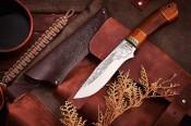Нож Охотник (с рисунком)